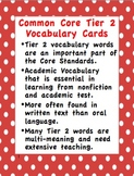 Common Core Tier 2 Vocabulary:  Group 1