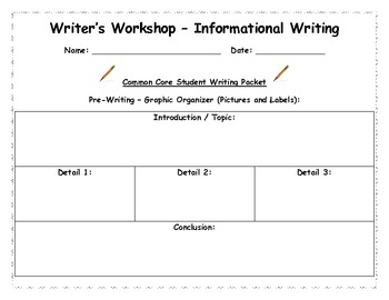 Informational Writing - Lessons - Tes Teach