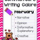 Common Core Writing- February