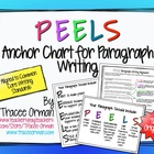 "Common Core Writing ""PEEL"" Anchor Chart & Graphic Organizer"