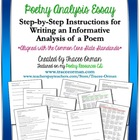 Common Core Writing: Poetry Analysis & Critique Essay