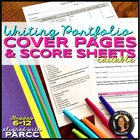 Common Core Writing Portfolio Criteria & Score Sheets Grades 6-12