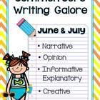 Common Core Writing- Summer Writing
