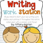 Common Core Writing Workstation Complete Packet