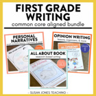 Common Core Writing for 1st Grade! Narratives, Informative