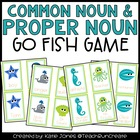 "Common Nouns and Proper Nouns ""Go Fish"" game"
