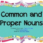 Common & Proper Nouns {capitalization rules} Power Point
