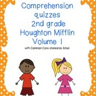 Common core 2nd grade Houghton Mifflin reading comprehensi