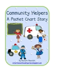 Community Helpers - A pocket chart story
