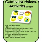Community Helpers Activities (14 pgs)