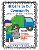 Community Helpers Lift the Flip Activity! Great for Young