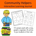 Community Helpers Report & Interactive Learning Journal {S