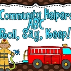 Community Helpers Roll Say Keep ABC