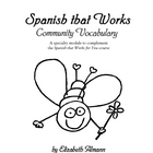Community Vocabulary Module - Spanish that Works