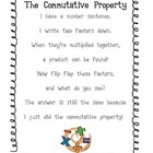 Commutative Property Poem