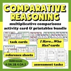 Comparative Reasoning: multiplicative vs. additive compari