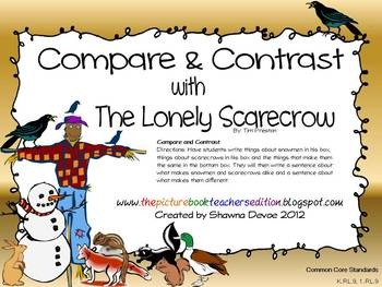 Compare & Contrast with the Lonely Scarecrow