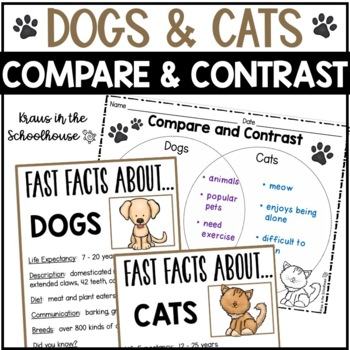 Compare Contrast Essay Dog and Cat