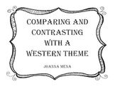 Compare and Contrast Using a Western Theme