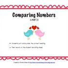 Comparing Numbers - Common Core 1.NBT.3