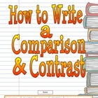 Comparison & Contrast Writing Lesson