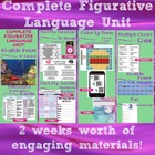Complete Figurative Language Unit