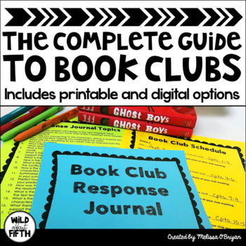 Complete Guide to Book Clubs in the Upper Elementary & Middle School Classroom