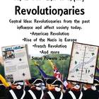 Complete IB PYP Inquiry Activities American Revolution & O