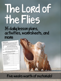 Complete Lord of the Flies Daily Lesson Plans, Activities,