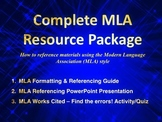 MLA Resource Package