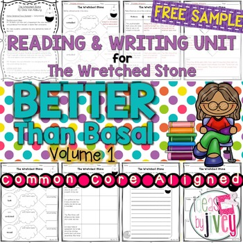 Complete NO PREP Reading & Writing Units {ONE FREE UNIT- The Wretched Stone}