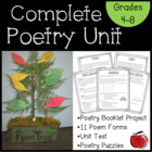Complete Poetry Unit