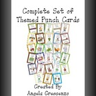 Complete Set of Themed Punch Cards