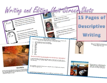Complete Writing and Editing/Proofreading Unit