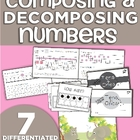 Composing and Decomposing Numbers (11-19) Differentiated M