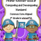 Composing and Decomposing Numbers to 20 w/ PIRATES~ Freebi