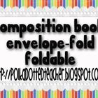 Composition Book Envelope-Fold Foldable