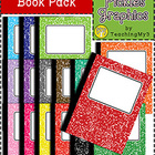 Composition Book Pack {Commercial Use}