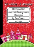Composition Journal Background Frames {For Personal and Co