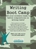 Composition Writing Boot Camp Test Prep
