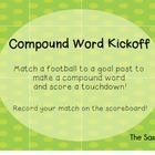 Compound Word Match: Football Theme