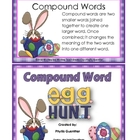 Compound Words ( Egg Hunt with Bunny)