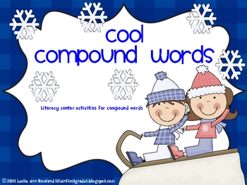 Compound Words Literacy Activities