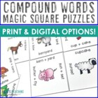 Compound Words Magic Square for 1st and 2nd