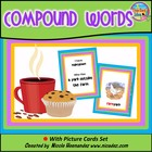 Compound Words...I Have Who Has With Picture Cards Set