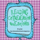Comprehension Question Cards for Reading