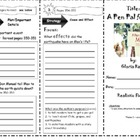 Comprehension Tri-Folds - Story Town - Themes  1-6 - 3rd Grade