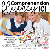 Comprehension and Fluency 101 {Strategies, Games, Tools, Posters}