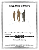 """Comprehension and Writing - """"Sing, Sing a Story"""