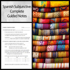 Comprehensive Guided Notes on the Present Subjunctive